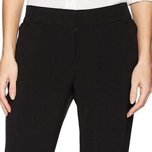 NEW NICOLE MILLER ESSENTIAL EASY CARE PANT SZ 12